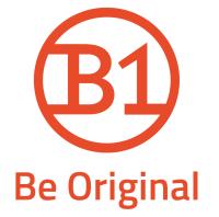 ручки B1 логотип