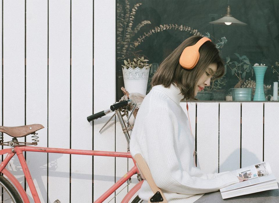 mi headphon 2 оранжевые