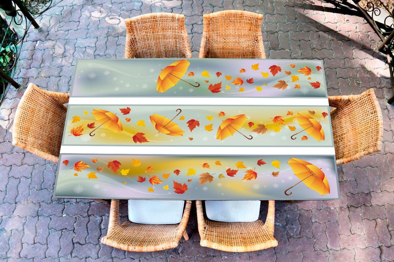 Наклейка на стол - Полосатый ветер  | Купить фотопечать на стол в магазине Интерьерные наклейки