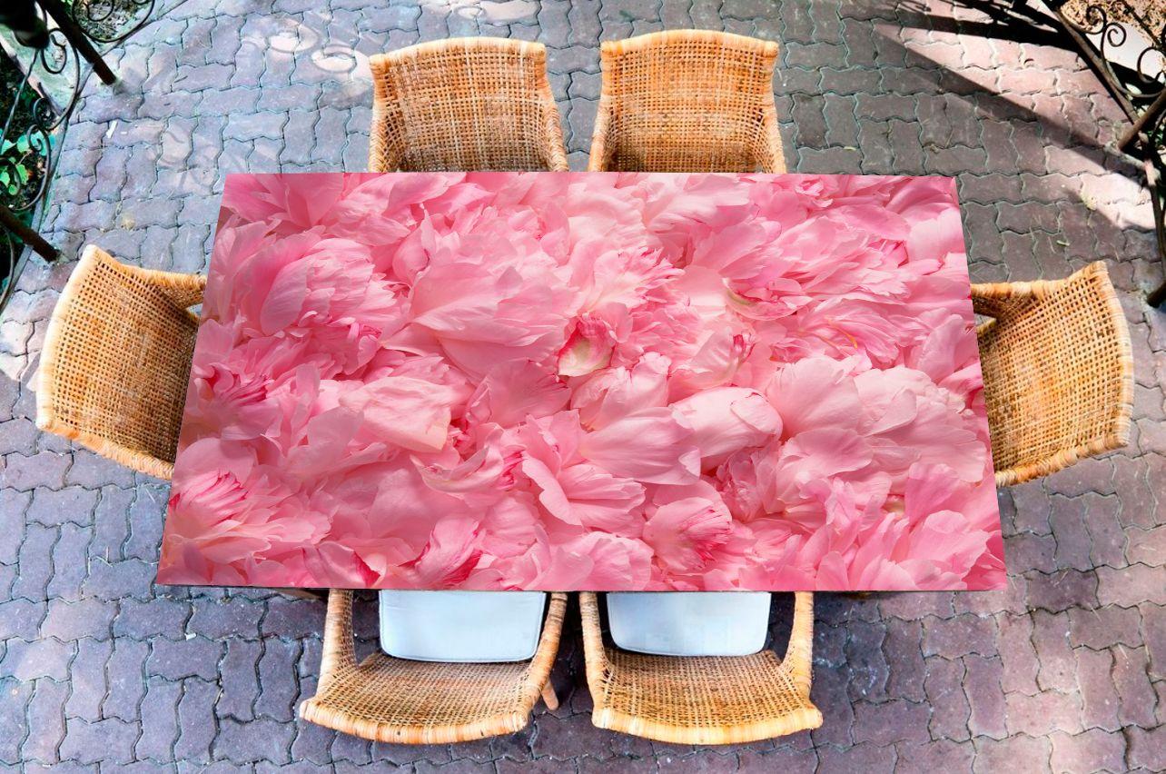 Наклейка на стол - Лепестки   Купить фотопечать на стол в магазине Интерьерные наклейки