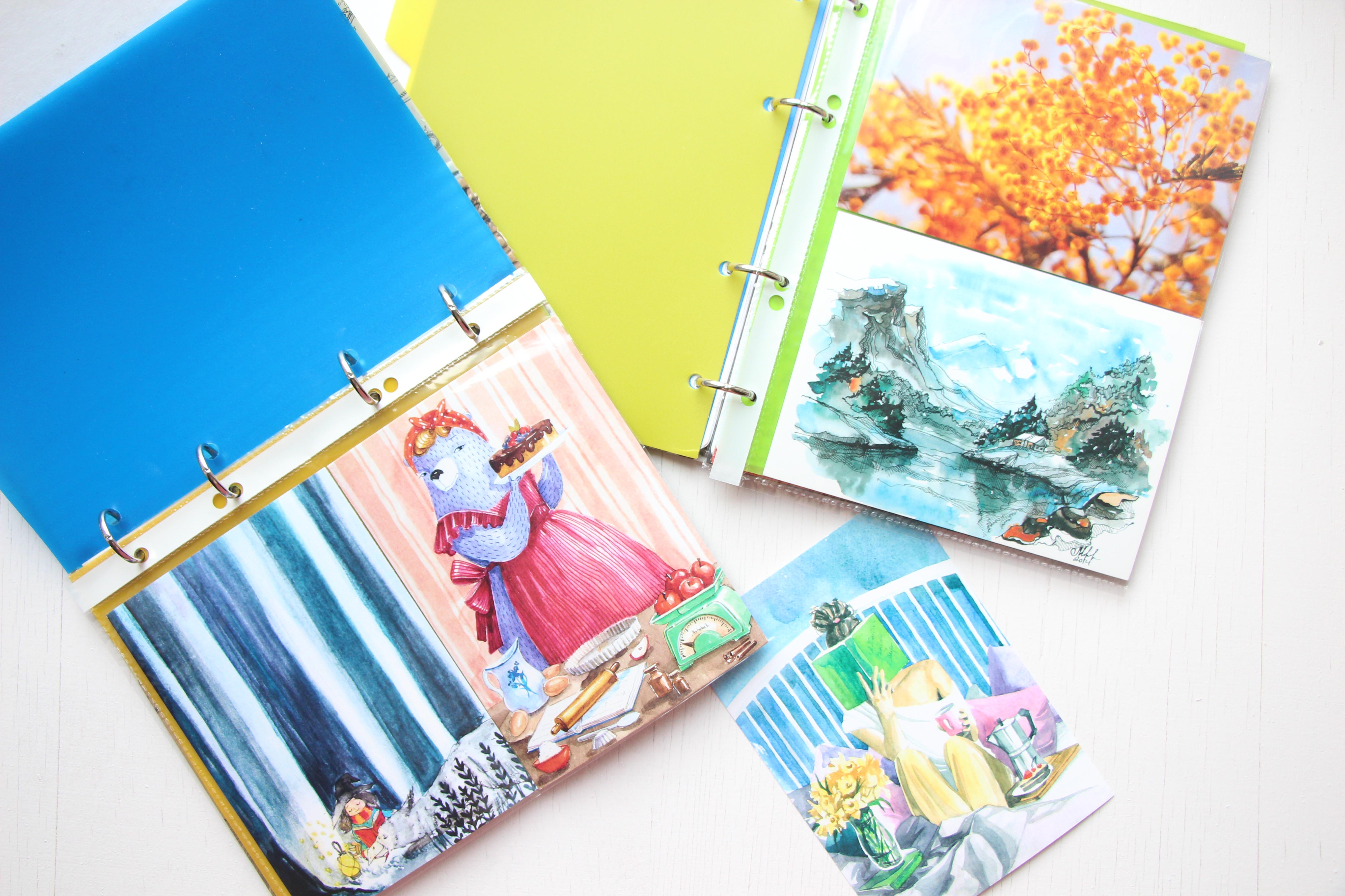 Как хранить открытки 14