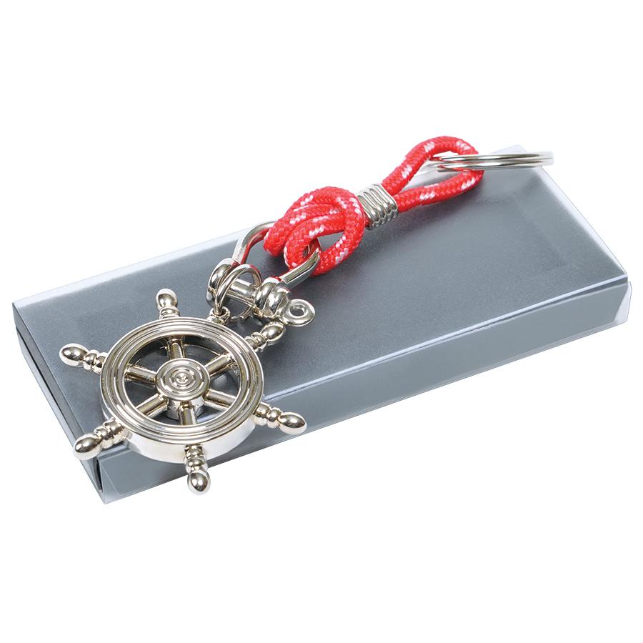 металлические брелки Штурвал 23201 в подарочной коробке