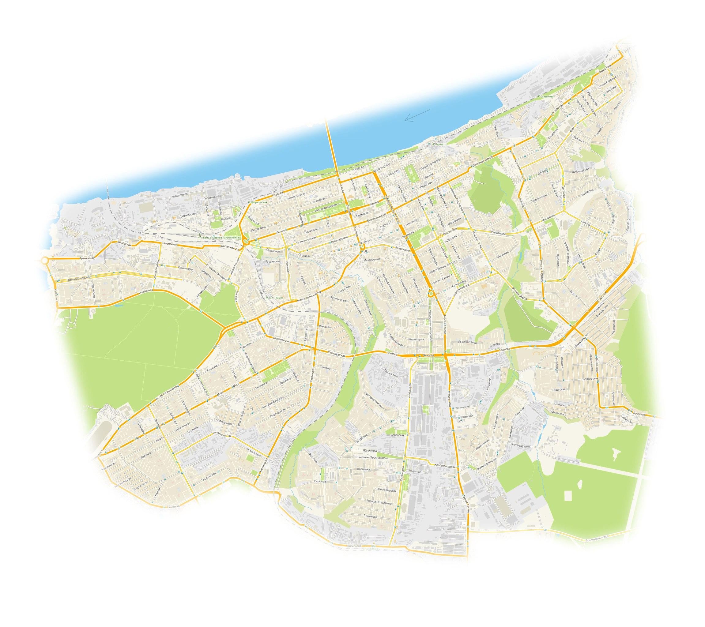 границы центральных районов с доставкой 200 руб.
