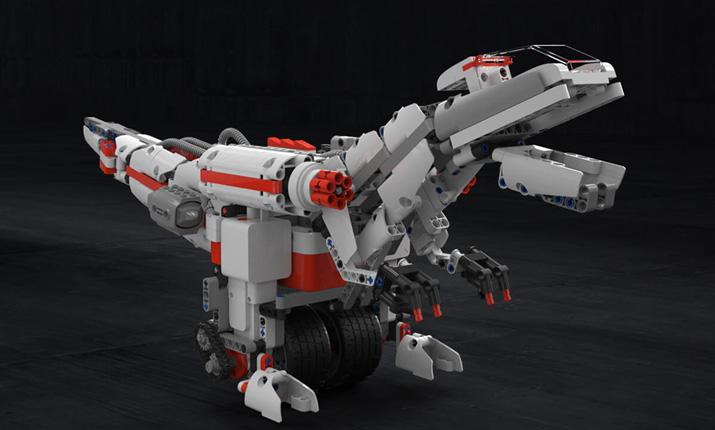 Mi Bunny Block Robot тиранозавр