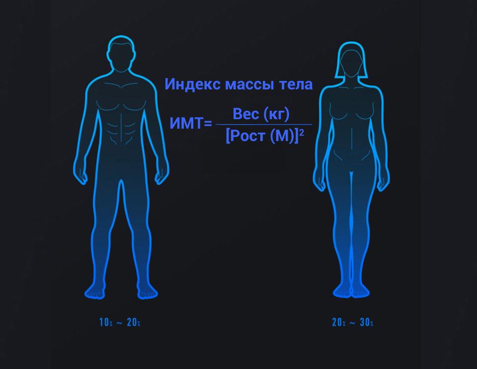 Весы Xiaomi Smart Scale 2 индекс массы тела
