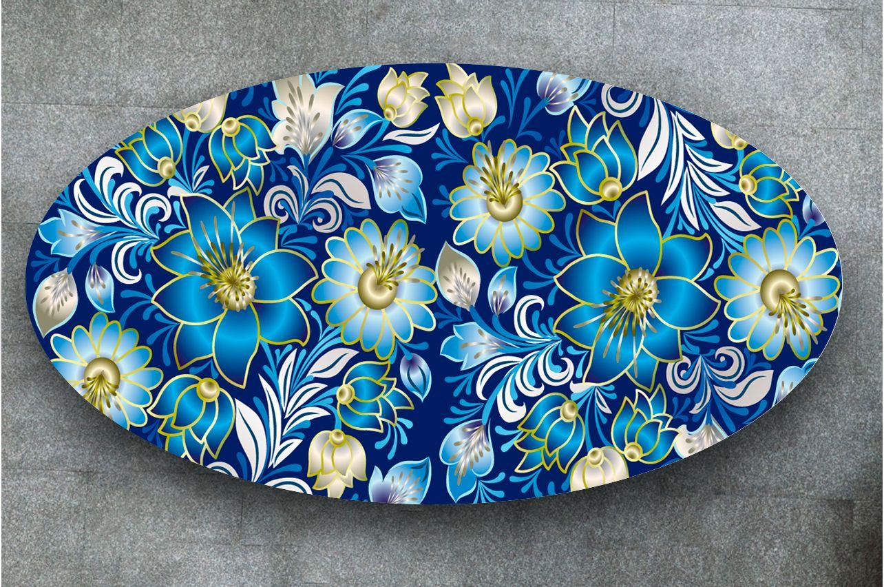 Наклейка на стол - Floral-4  | Купить фотопечать на стол в магазине Интерьерные наклейки