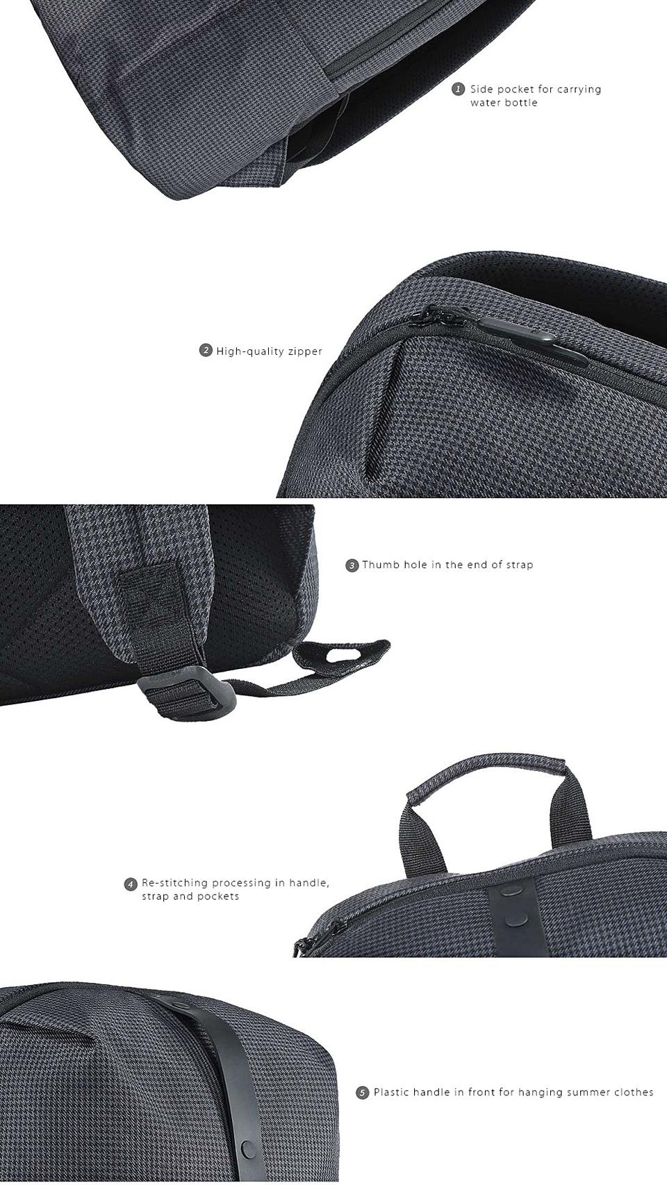 Рюкзак Xiaomi College Leisure Shoulder Bag особенности дизайна