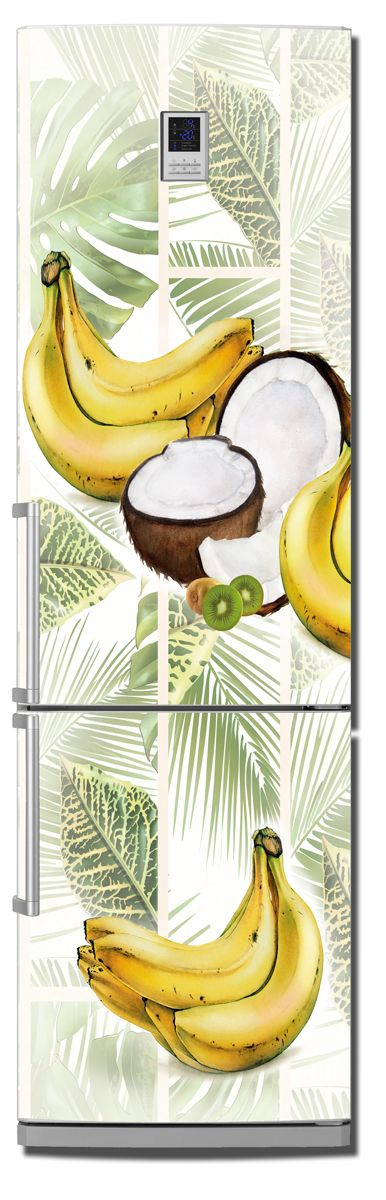 Fridge Skin - Coconut-apricots by X-Decor
