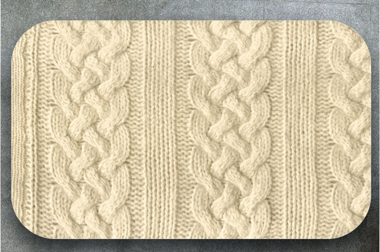 Table Decals - Knitted 2 | Buy Table Decals in x-decor.comи