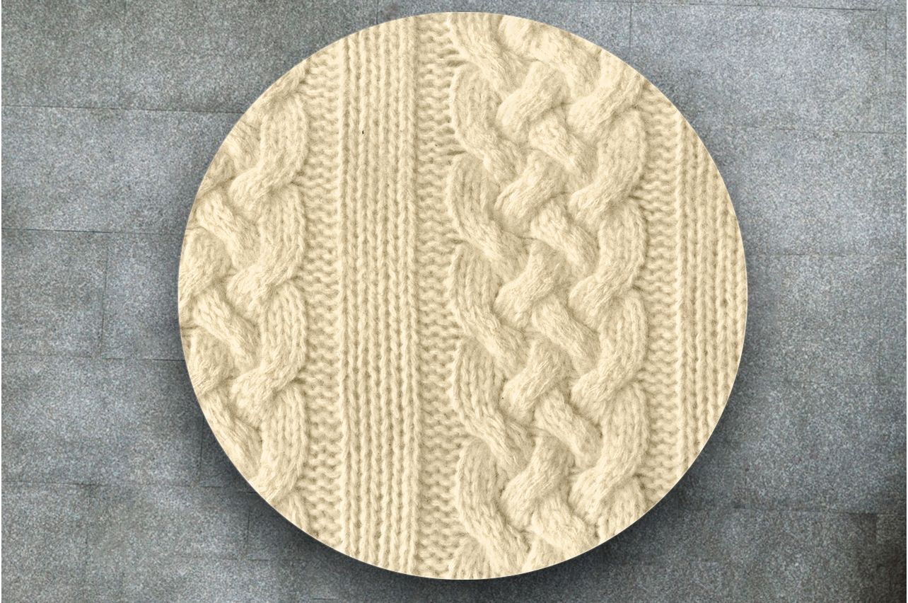 Table Decals - Knitted 2 | Buy Table Decals in x-decor.com