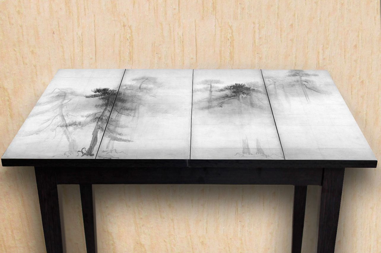 Table Decals - Pine Trees | Buy Table Decals in x-decor.com