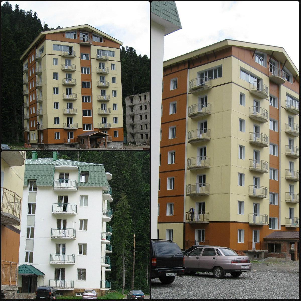 Отделка домов фиброцементными плитами г. Руза