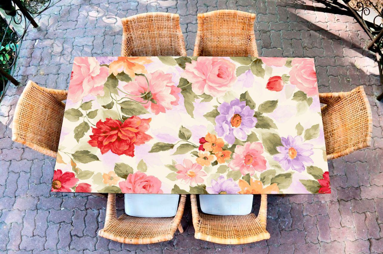 Наклейка на стол - Прованс  | Купить фотопечать на стол в магазине Интерьерные наклейки