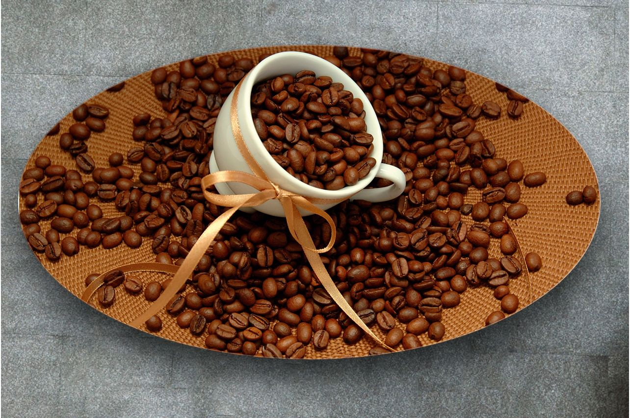 Table Decals - Coffee 2 Grains | Buy Table Decals in x-decor.com