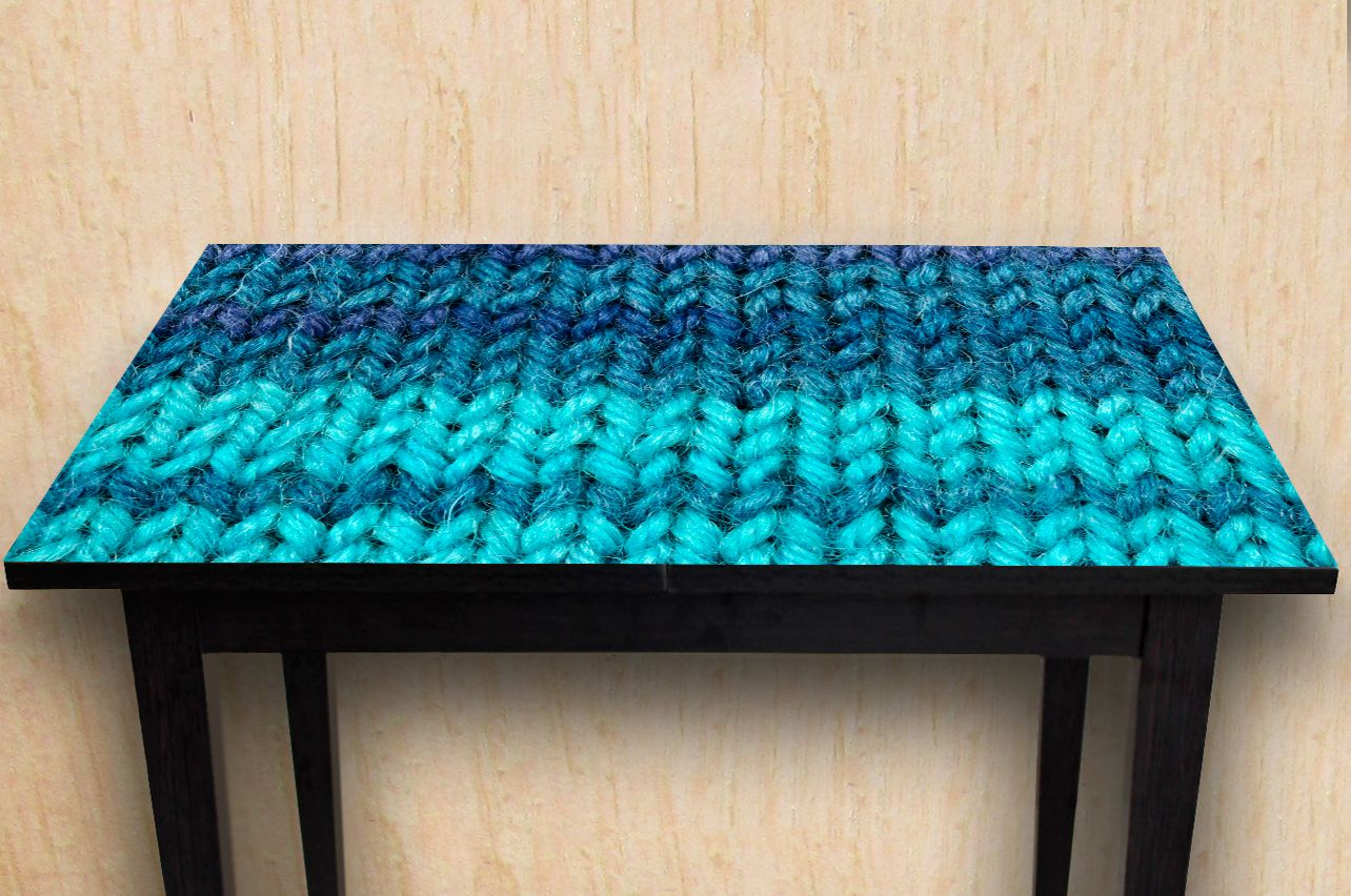 Table Decals - Knitted | Buy Table Decals in x-decor.com