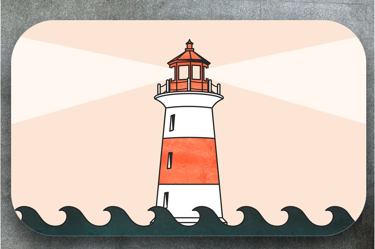 Table Decals - Lighthouse | Buy Table Decals in x-decor.comи