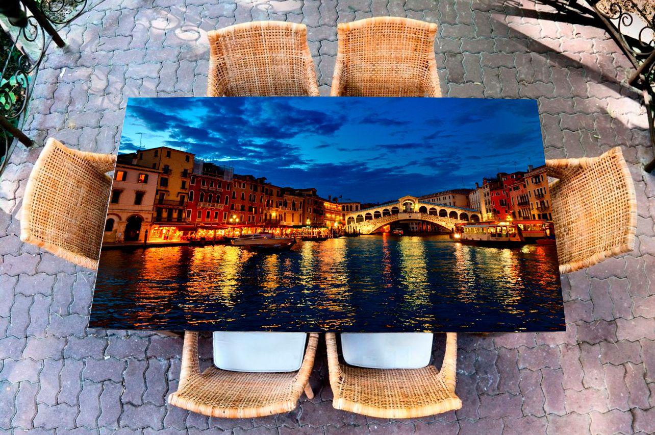 Наклейка на стол - А Казанова уплыл | Купить фотопечать на стол в магазине Интерьерные наклейки