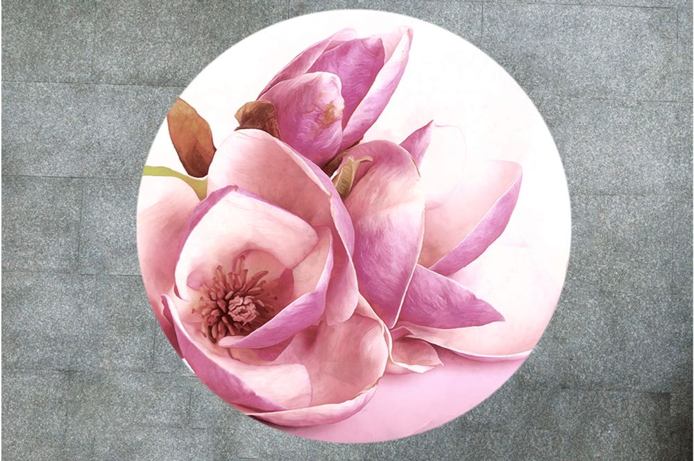 Table Decals - Magnolia | Buy Table Decals in x-decor.com