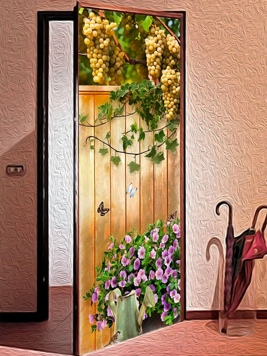 Door sticker - The brink of summer by X-Decor