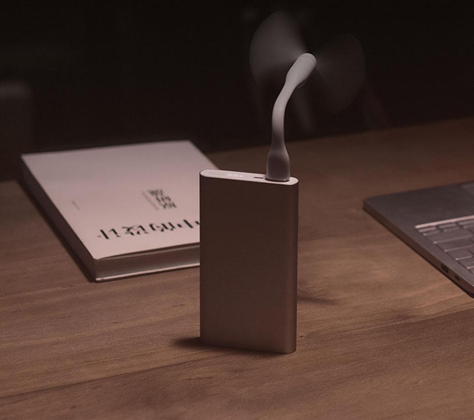 Универсальная батарея Xiaomi Mi Powerbank 2 для браслета Mi band, Amazfit, вентилятора Mi fan