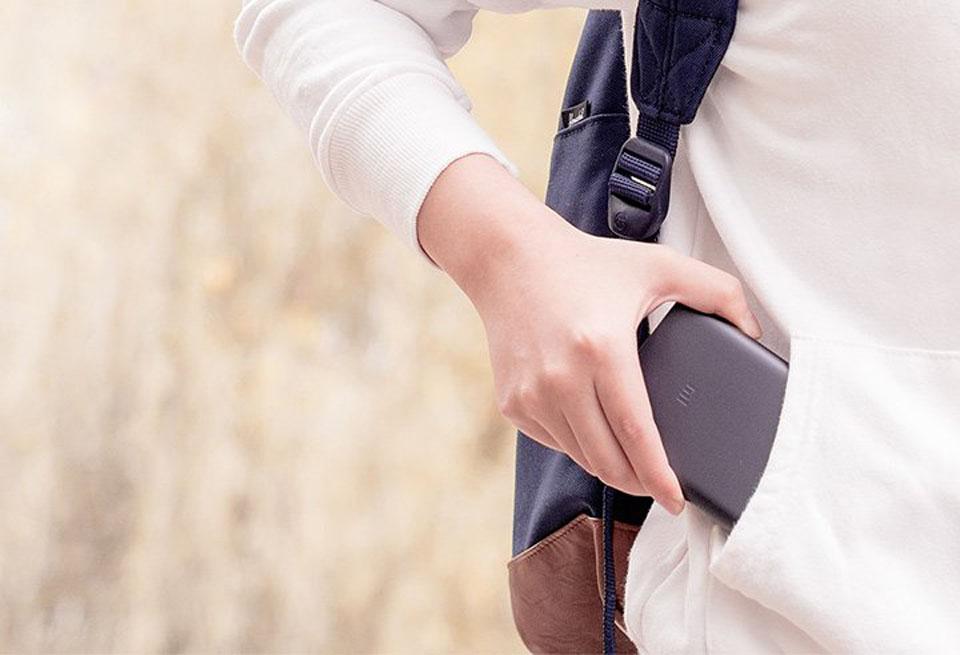 Универсальная батарея Xiaomi Mi Powerbank 2 для ежедневного использования