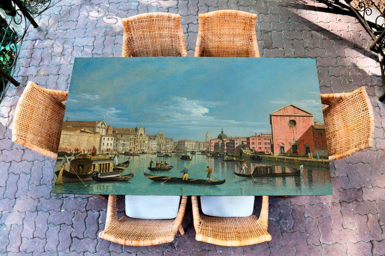 Наклейка на стол - Большой Канал | Купить фотопечать на стол в магазине Интерьерные наклейки