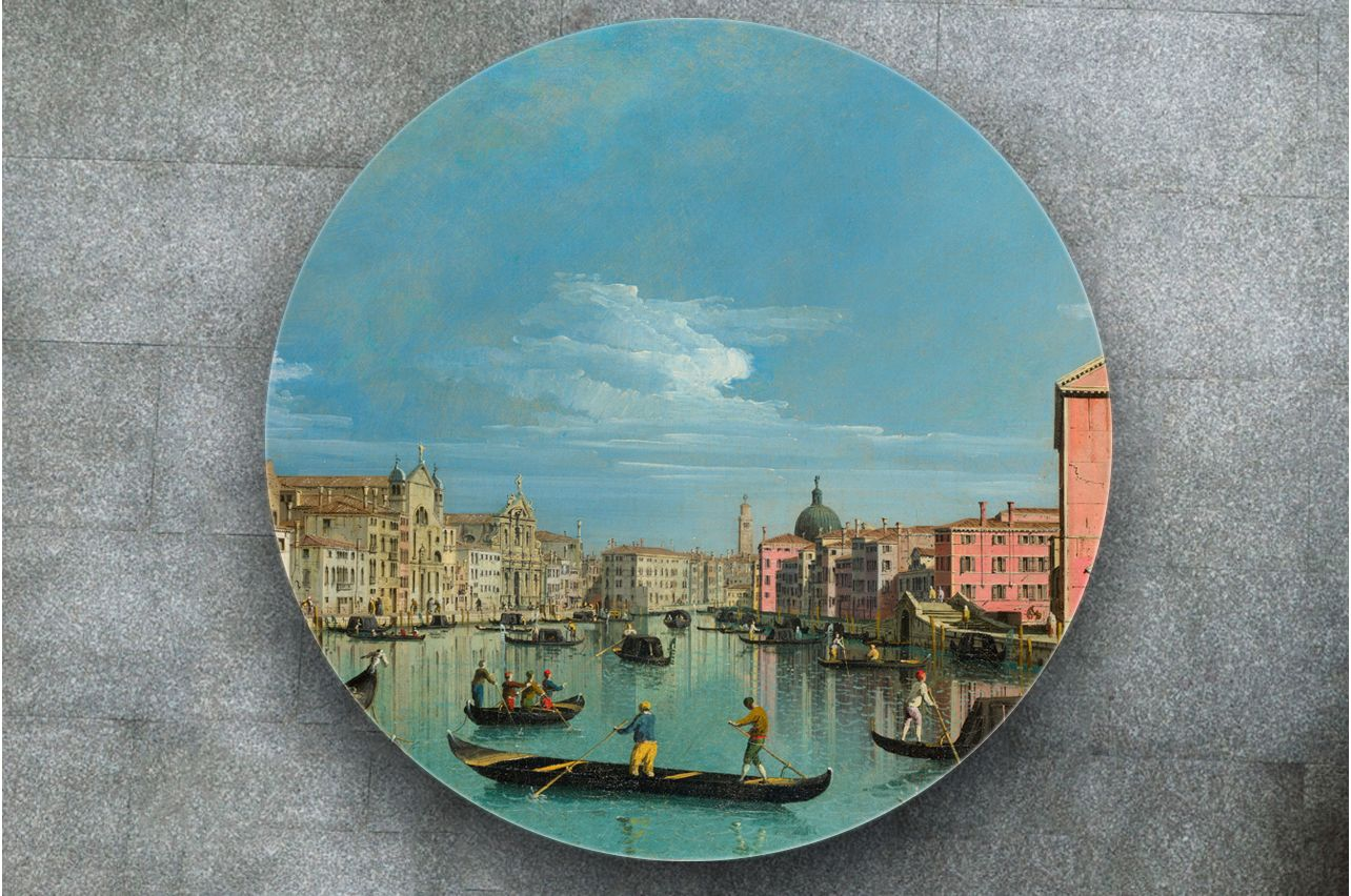 Table Decals - The Grand Canal |Buy Table Decals in x-decor.com