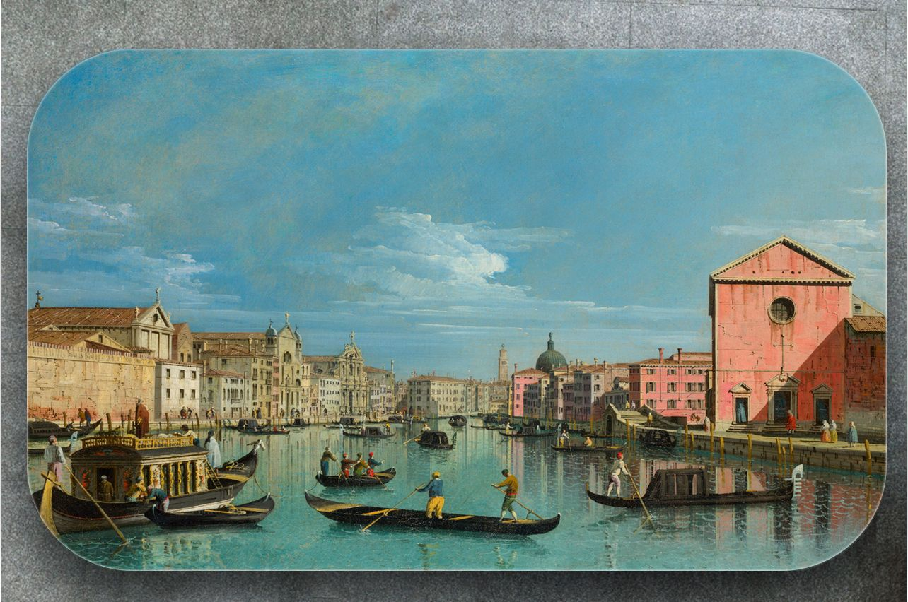 Table Decals - The Grand Canal |Buy Table Decals in x-decor.comи