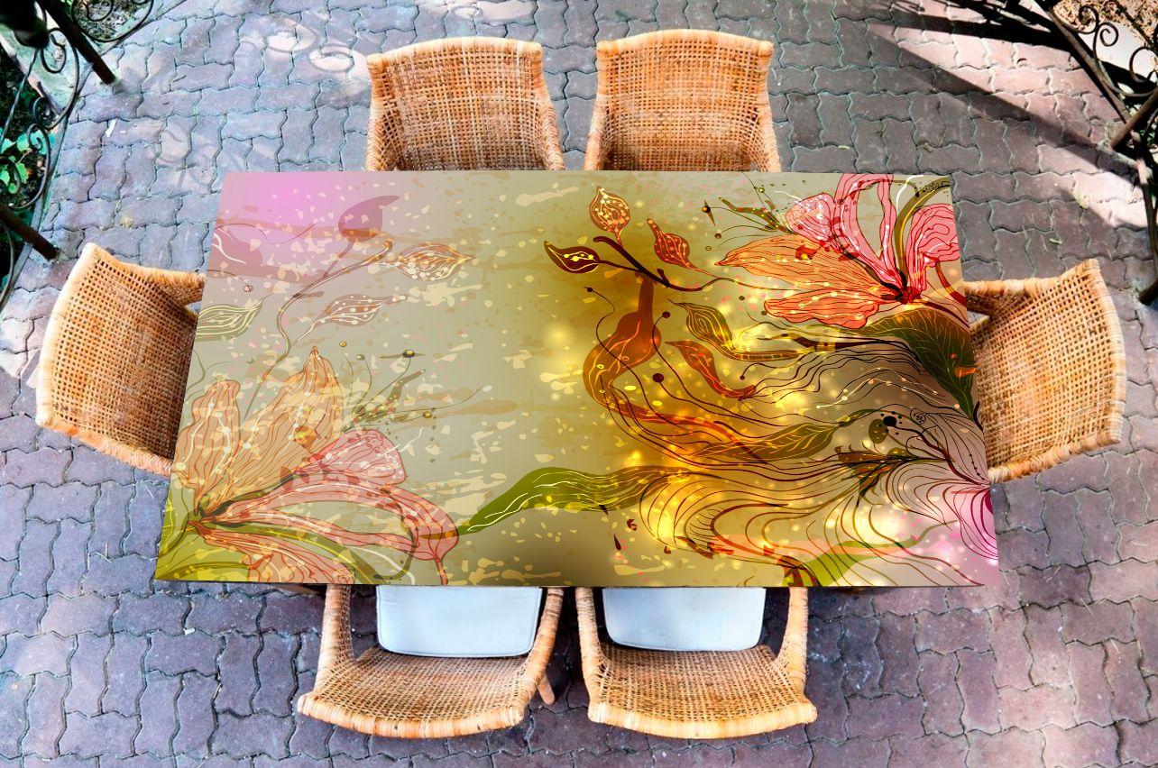 Наклейка на стол - а где русалки?   Купить фотопечать на стол в магазине Интерьерные наклейки