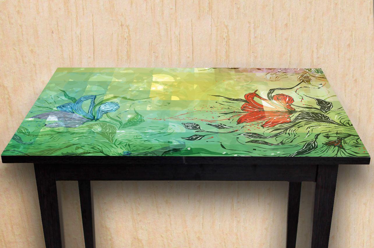 Наклейка на стол - Отражение   Купить фотопечать на стол в магазине Интерьерные наклейки