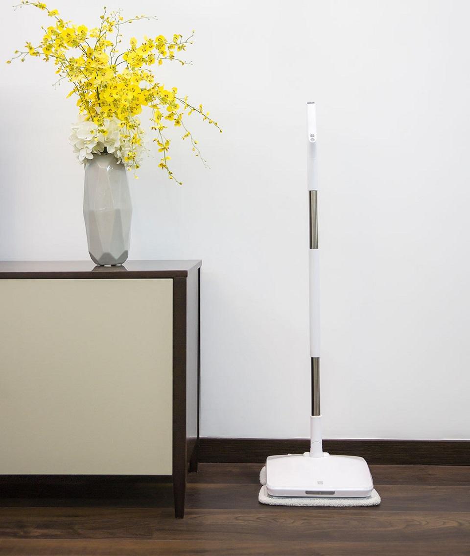 SWDK Полотер/Электрошвабра Handheld Electric Mop вертикальная фиксация ручки