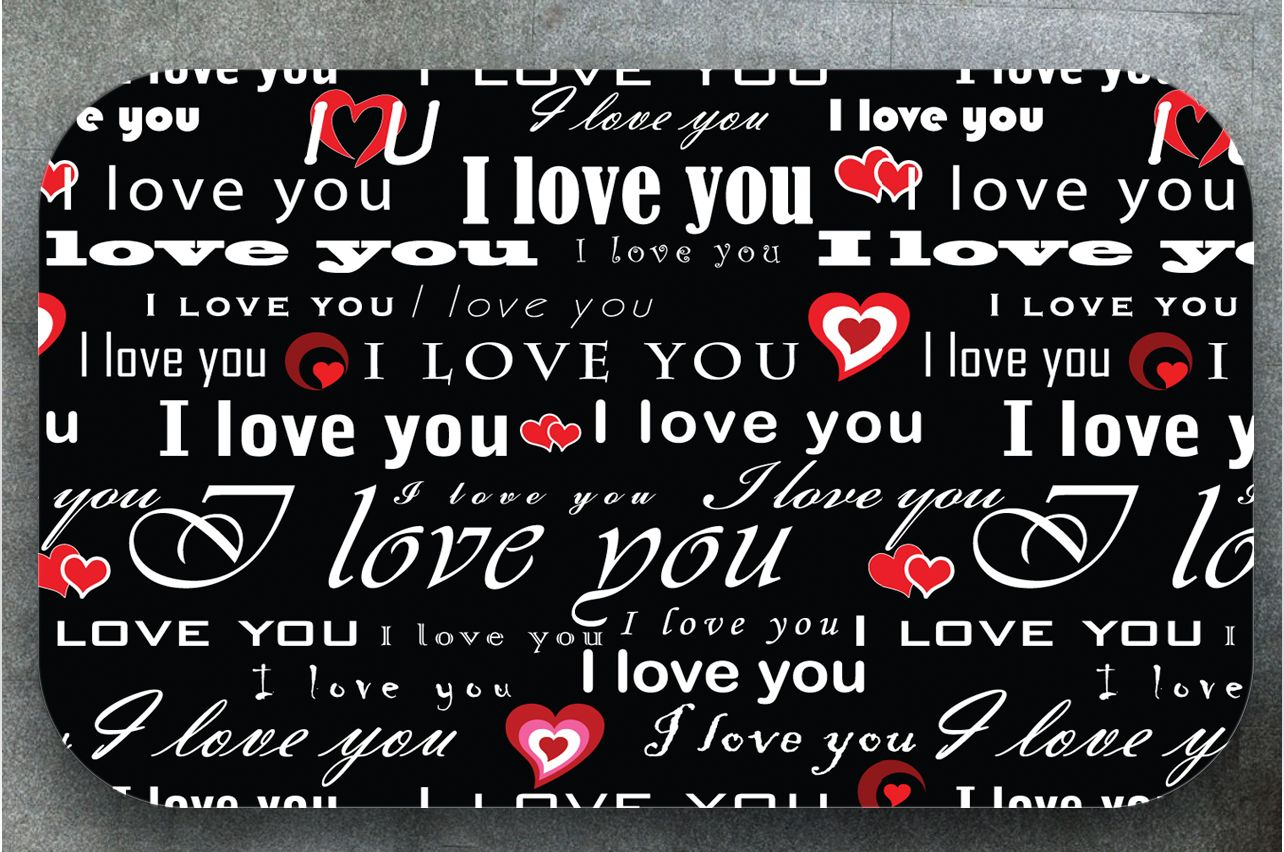 Table Decals - I love 1 | Buy Table Decals in x-decor.comи