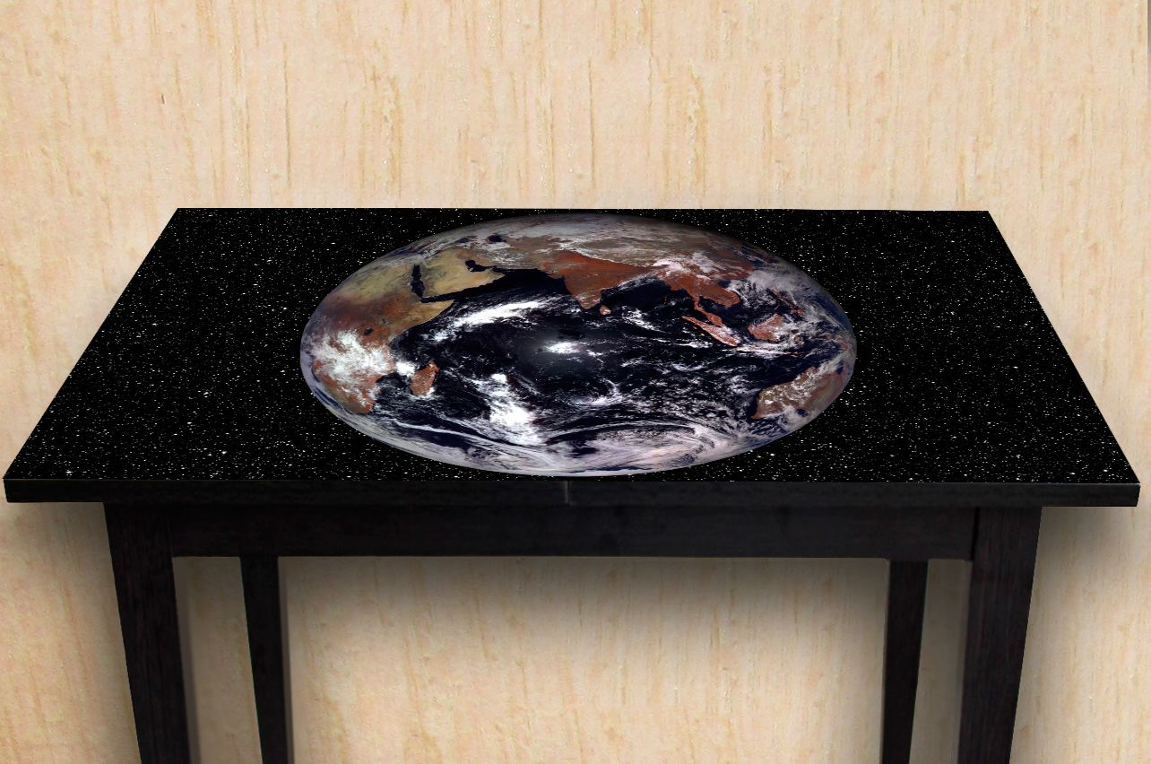 Table Decals - Earth | Buy Table Decals in x-decor.com