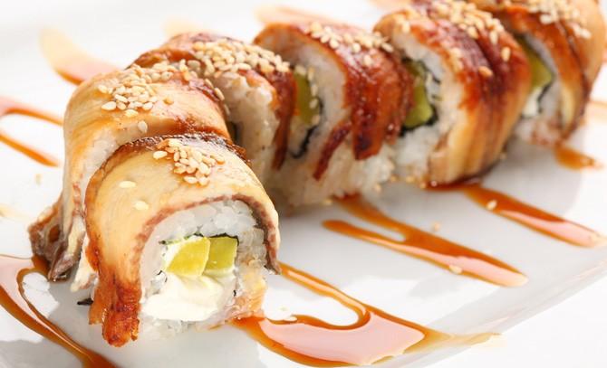 Доставка блюд японской и китайской кухни на дом