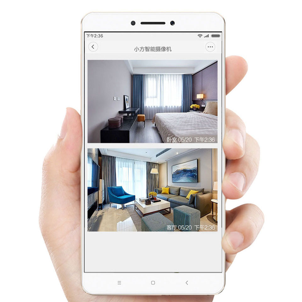 IP-камера Xiaomi MiJia Small Square Smart Camera имеет угол 110 градусов