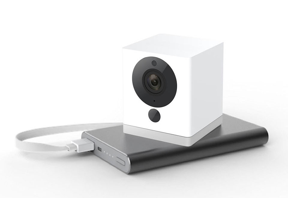 IP-камера Xiaomi MiJia Small Square Smart Camera емкостью 10 000 мАч прослужит долго на одном заряде
