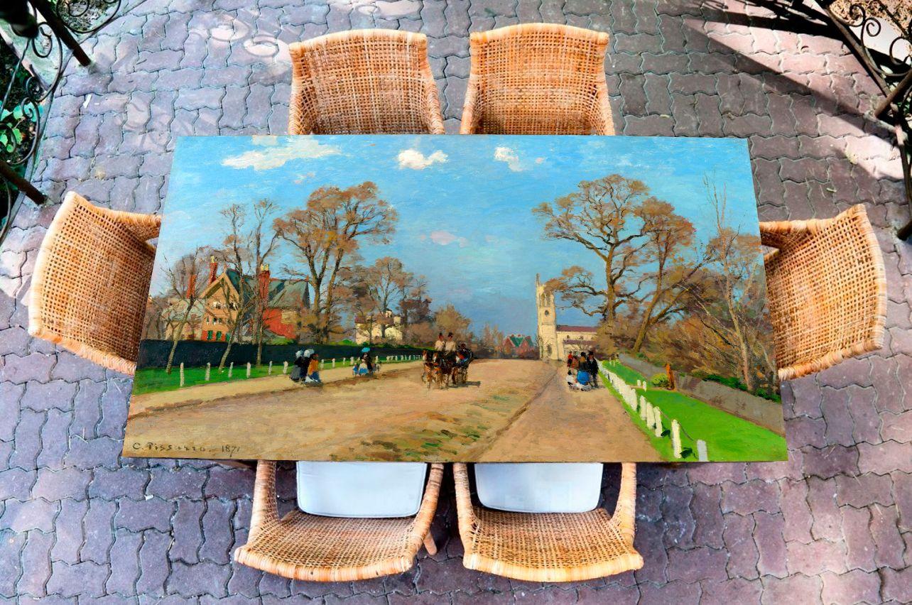 Наклейка на стол - The Avenue Sydenham   Купить фотопечать на стол в магазине Интерьерные наклейки