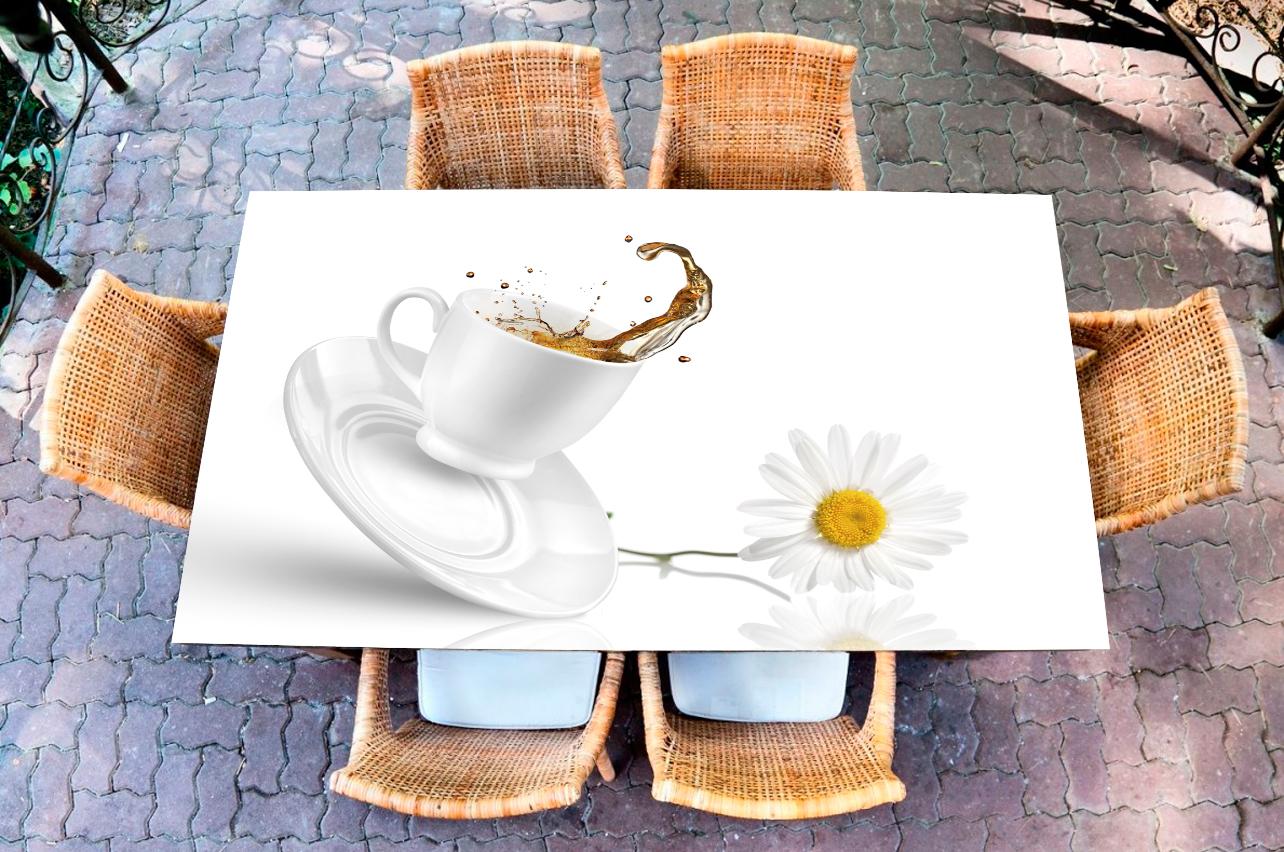 Наклейка на стол - Tea  | Купить фотопечать на стол в магазине Интерьерные наклейки