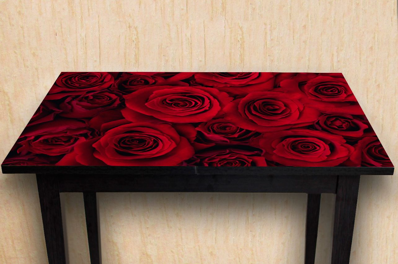 Table Decals - Red roses | Buy Table Decals in x-decor.com
