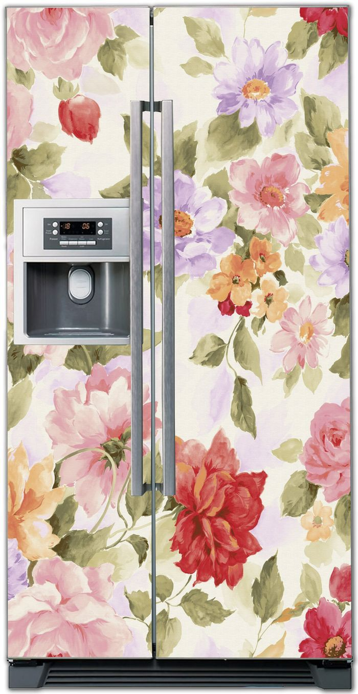 Наклейка на холодильник - Прованс