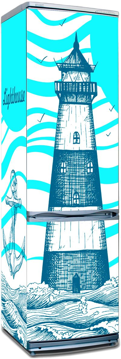 Fridge Skin - Lighthouse by X-Decor
