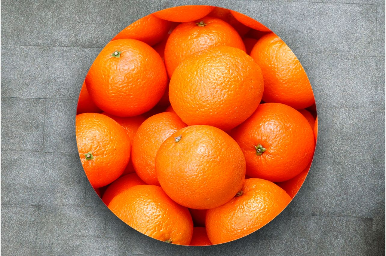 Table Decals - Orange | Buy Table Decals in x-decor.com