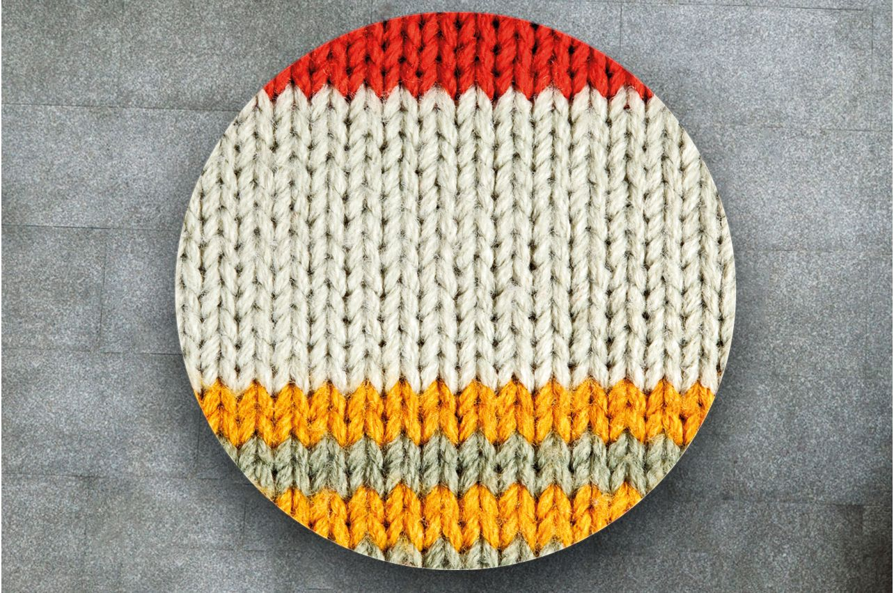 Table Decals - Knitted 3 | Buy Table Decals in x-decor.com