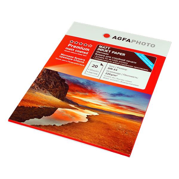 Матовая фотобумага Agfa