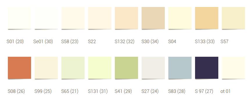 цвета сатиновой пленки для натяжных потолков