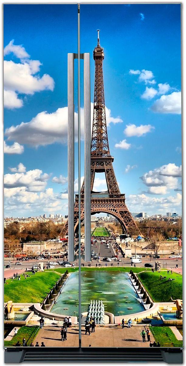 стикер на холодильник - Париж 2