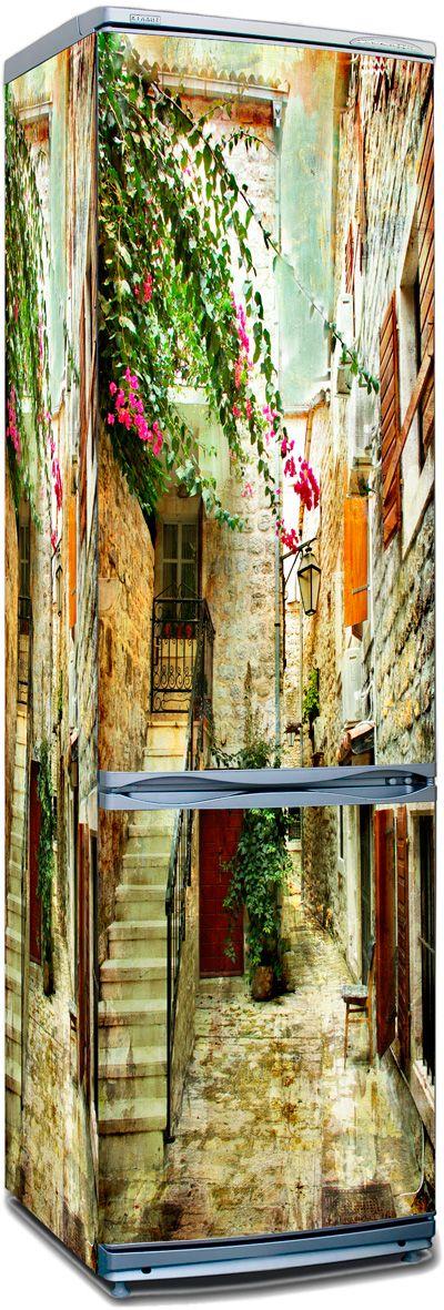 стикер - старые улочки Греции 2