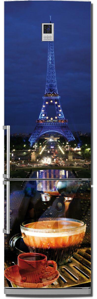 стикер на холодильник - Paris
