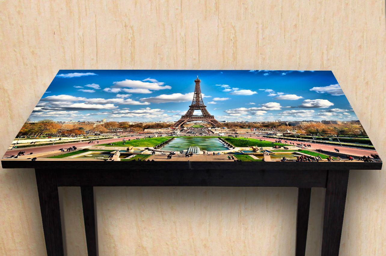 Наклейка на стол - Париж 2    Купить фотопечать на стол в магазине Интерьерные наклейки