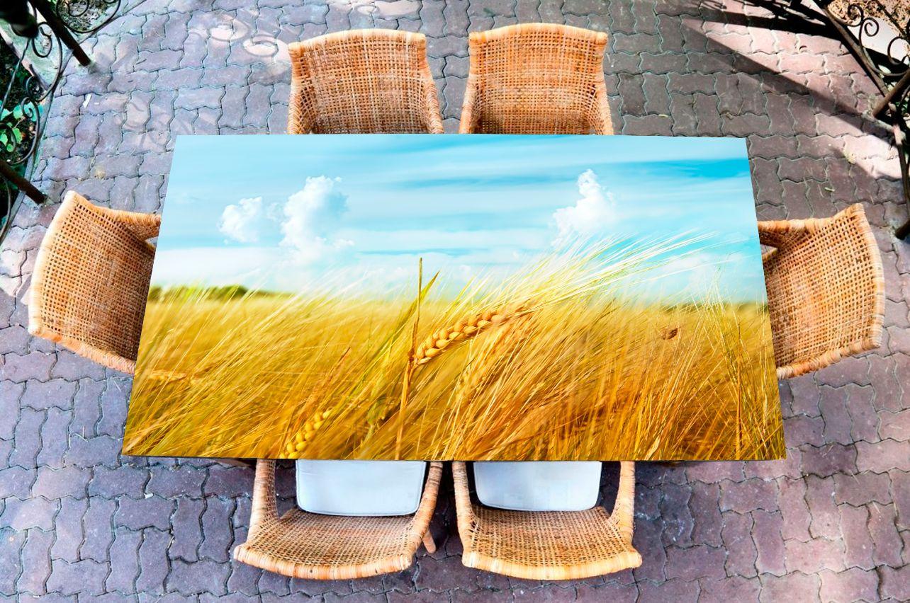 Наклейка на стол - Житница    Купить фотопечать на стол в магазине Интерьерные наклейки